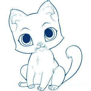 Gut bekannt comment dessiner un chat | peintres | Pinterest | Comment dessiner  OL07