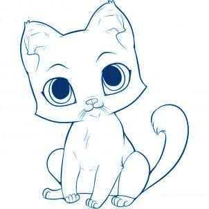 Comment dessiner un chat peintres pinterest comment - Comment dessiner blanche neige ...