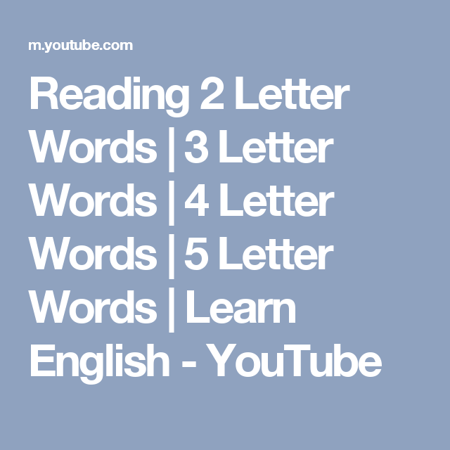 5 letter words reading 2 letter words 3 letter words 4 letter words 20230 | 7f1d9e7c2c837ae77bdb10b5a1367055