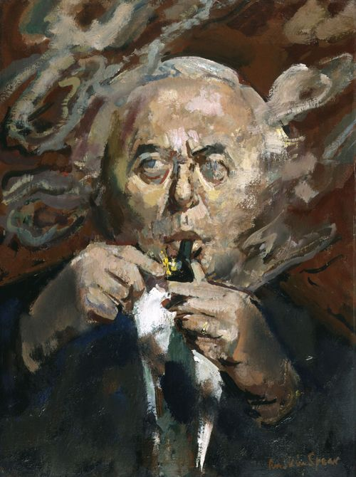 Ruskin Spear - Harold Wilson - Oil on canvas (exhibited 1974) - National Portrait Gallery, London