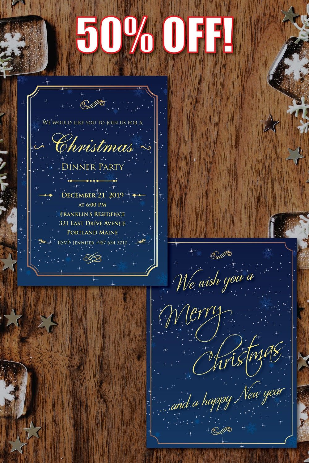 Special Offer, Christmas Party Invitation, Free Greeting