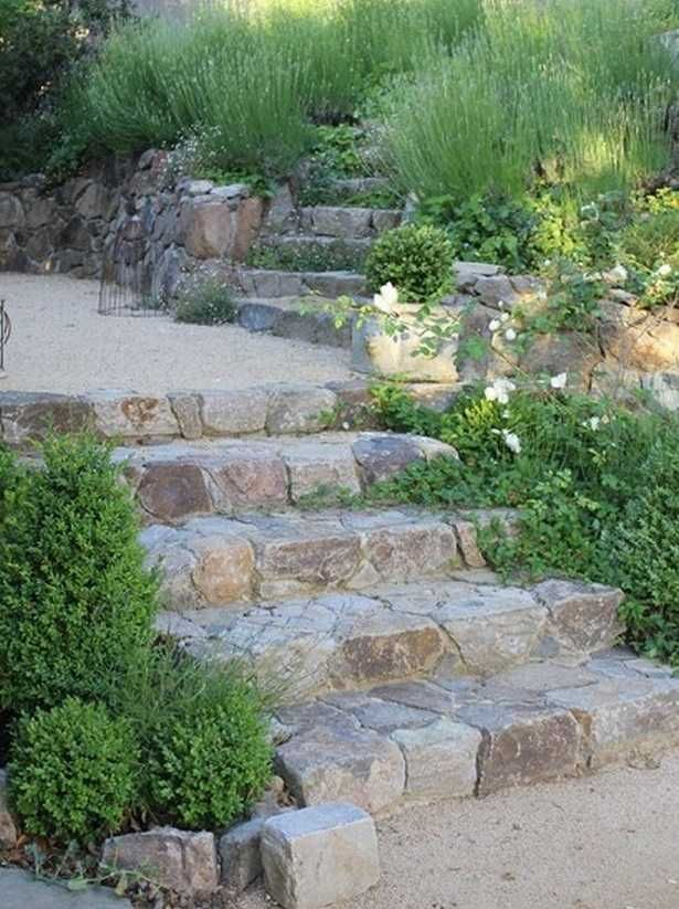 Garden Steps On A Slope Ideas | Gardens, Garden ideas and Garden