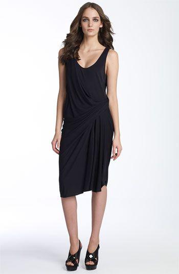 Only $90! | Diane von Furstenberg Davilla Navy Dress | Size 8 | www.modoboutique.com | #dvf # dianevonfurstenberg