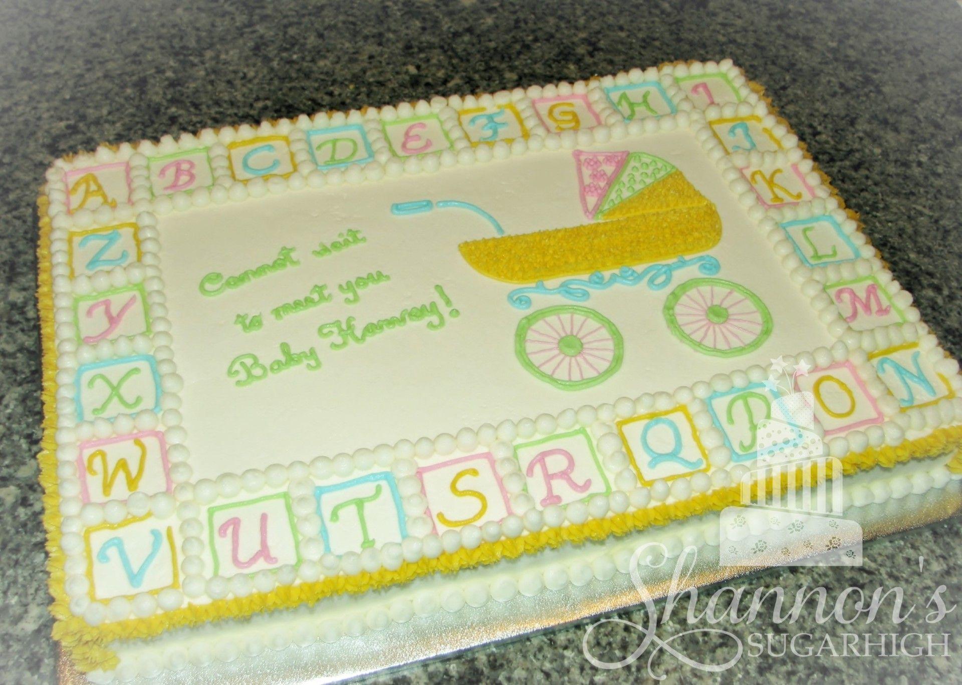 Gender neutral baby shower ideas pinterest - Baby Shower Cake Designs