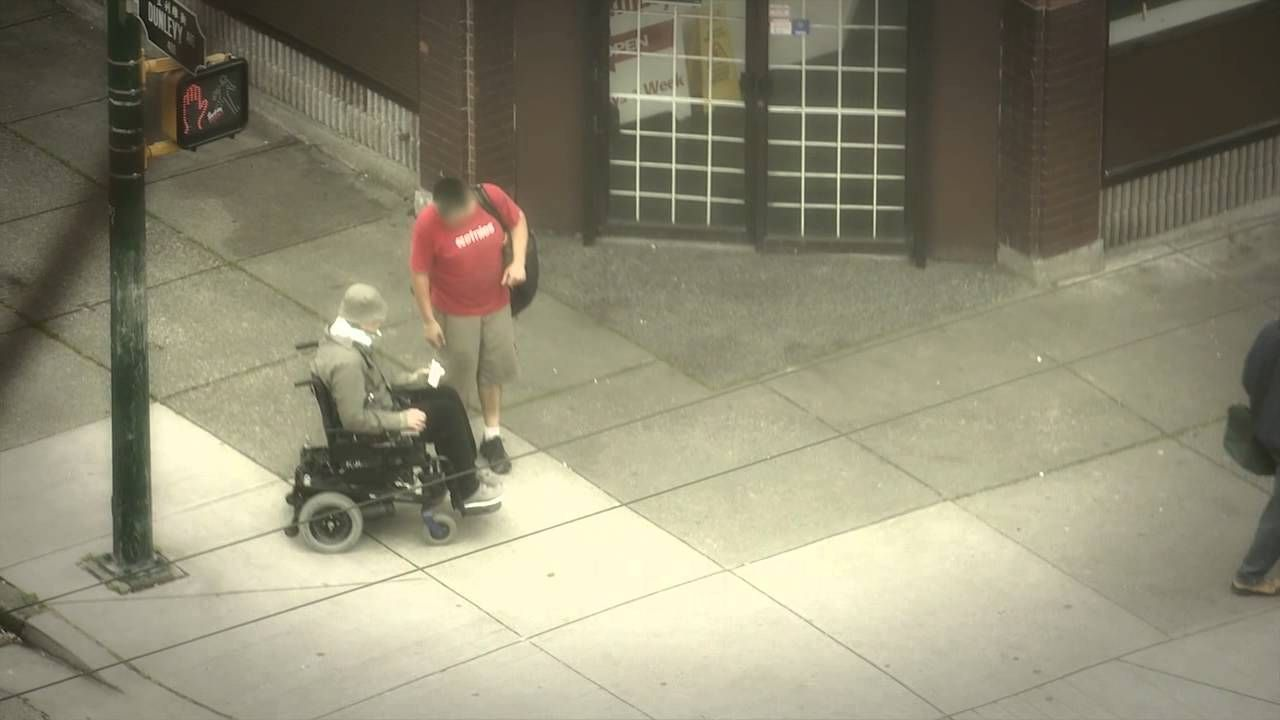 Staff Sergeant Mark Horsley went undercover on the Downtown Eastside as a mobility and cognitively disabled person.  What he found may surprise you.