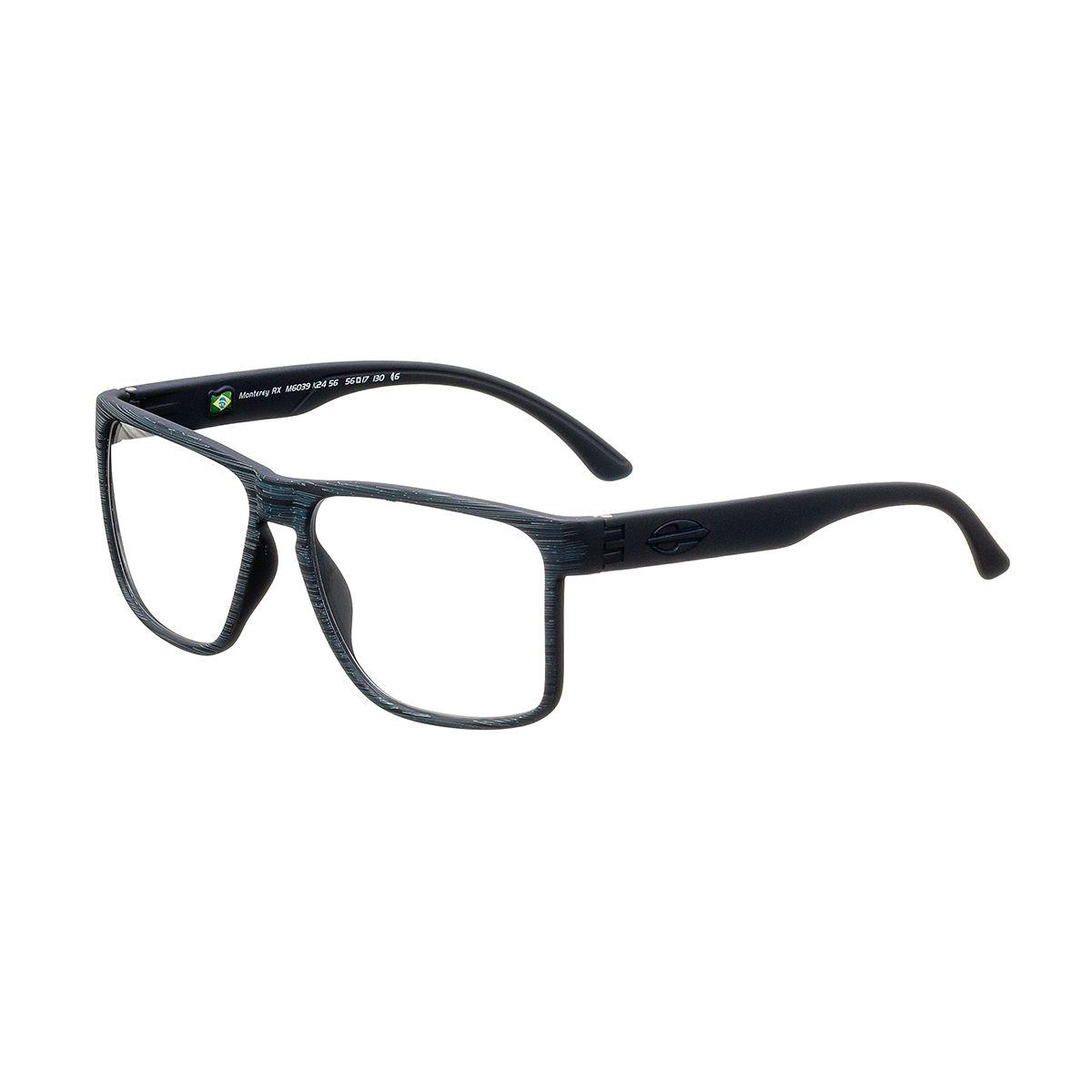 24f76dd8fe922 Óculos de Grau Masculino Mormaii Bold M6039 K24 Tam.56 Men s Eyewear