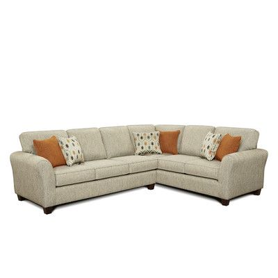 Chelsea Home Fresno Right Hand Facing Sectional Reviews Wayfair