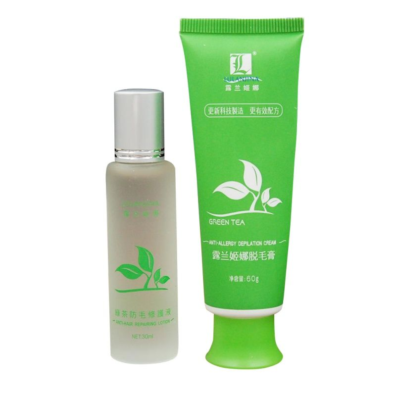 Green Tea Fast Permanent Hair Removal Cream Body Hair Removal For