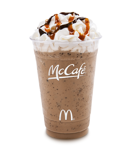 mcdonalds mccafé takes aim at starbucks Mcdonald's is challenging starbucks and dunkin mcdonald's wants to be the new starbucks a customer holds a cup of coffee served by mccafe out of a mcdonald's.