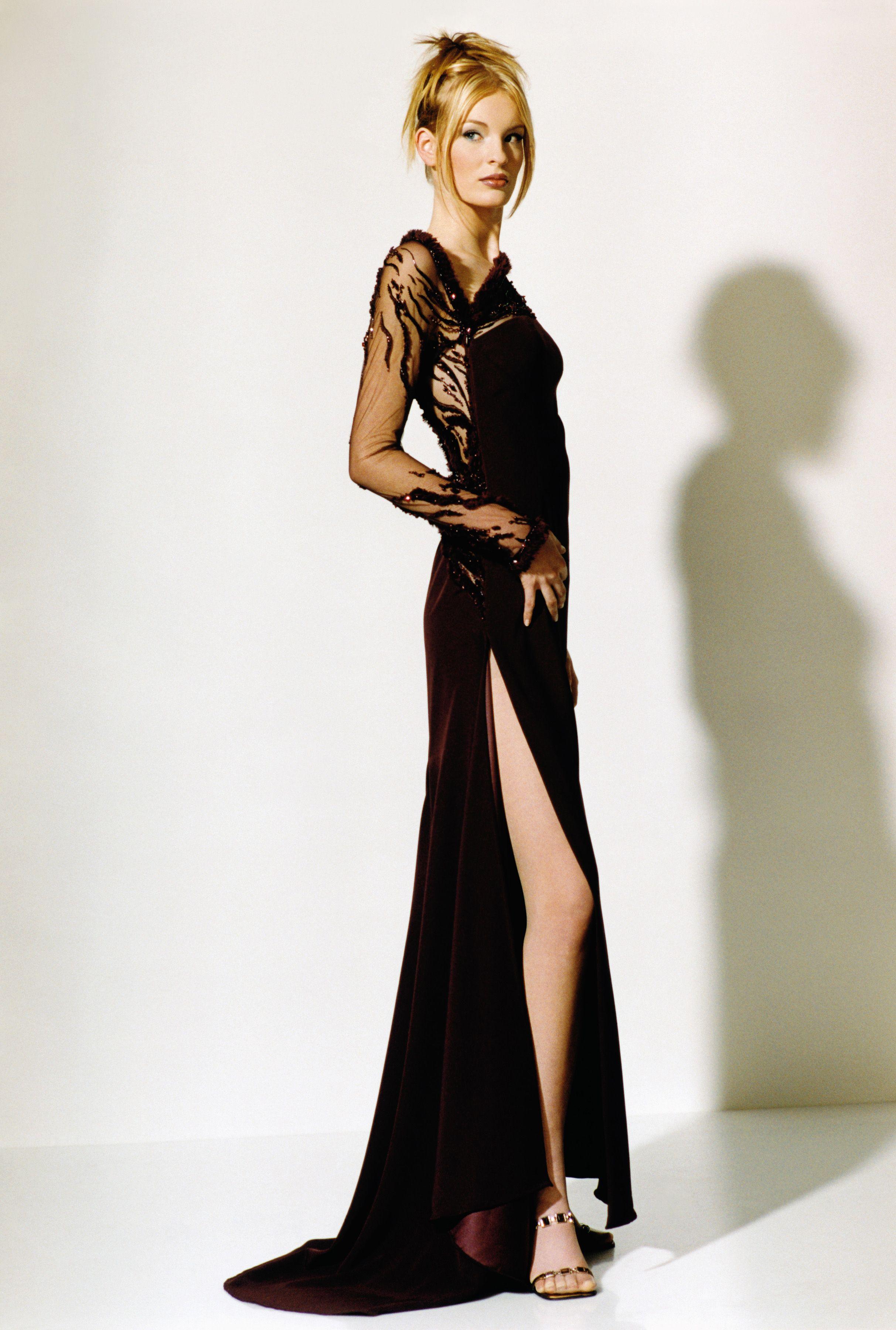 65ecb70b6ecd Haute Couture dress from Blanka Matragi s 20th anniversary collection
