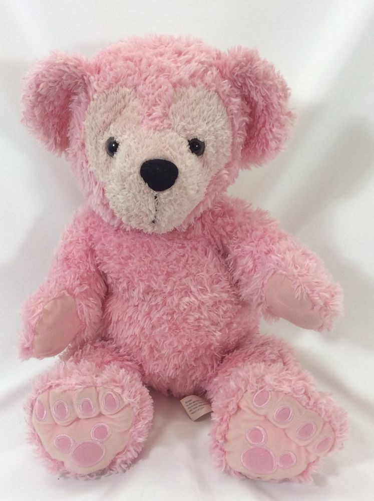 WDW Disney Pre-duffy Hidden Mickey Bear Pink 17