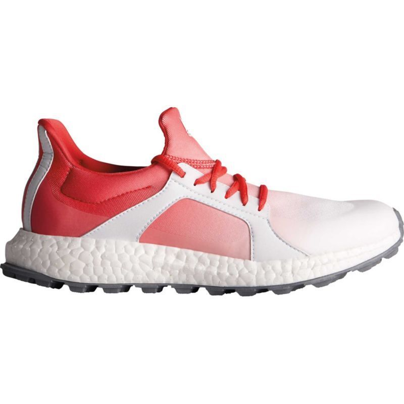 Adidas  mujer 's crossknit Boost zapatos de golf, rosa golfshoes Golf