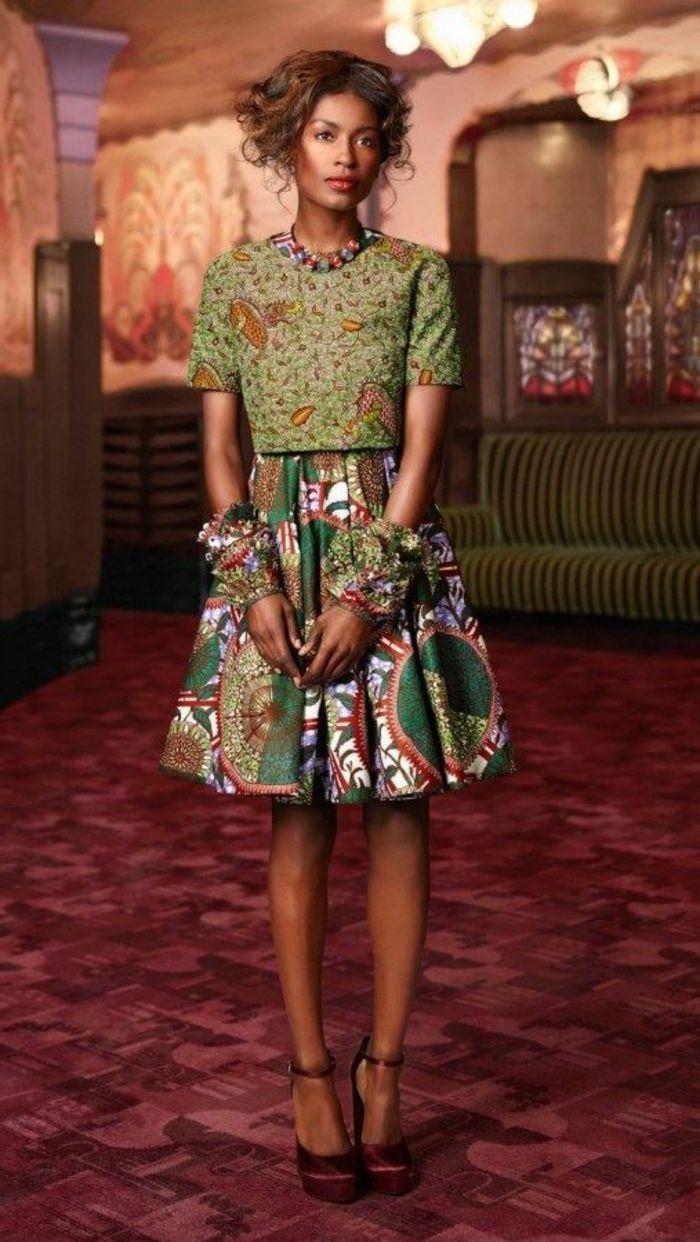 Fabuleux ▷1001+ idées de pagne africain stylé et comment le porter | Pagne  YV68