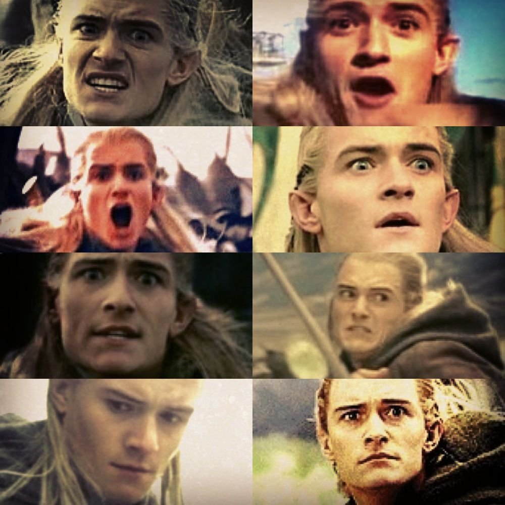 Legolas Weird Faces 3