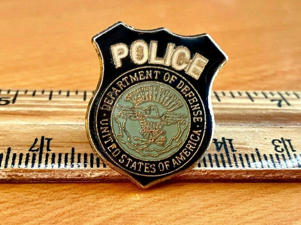 Usa Department Of Defense Police Lapel Pin V 2020 G