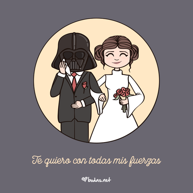 Frases Míticas De Amor Couple Love Cute Starwars