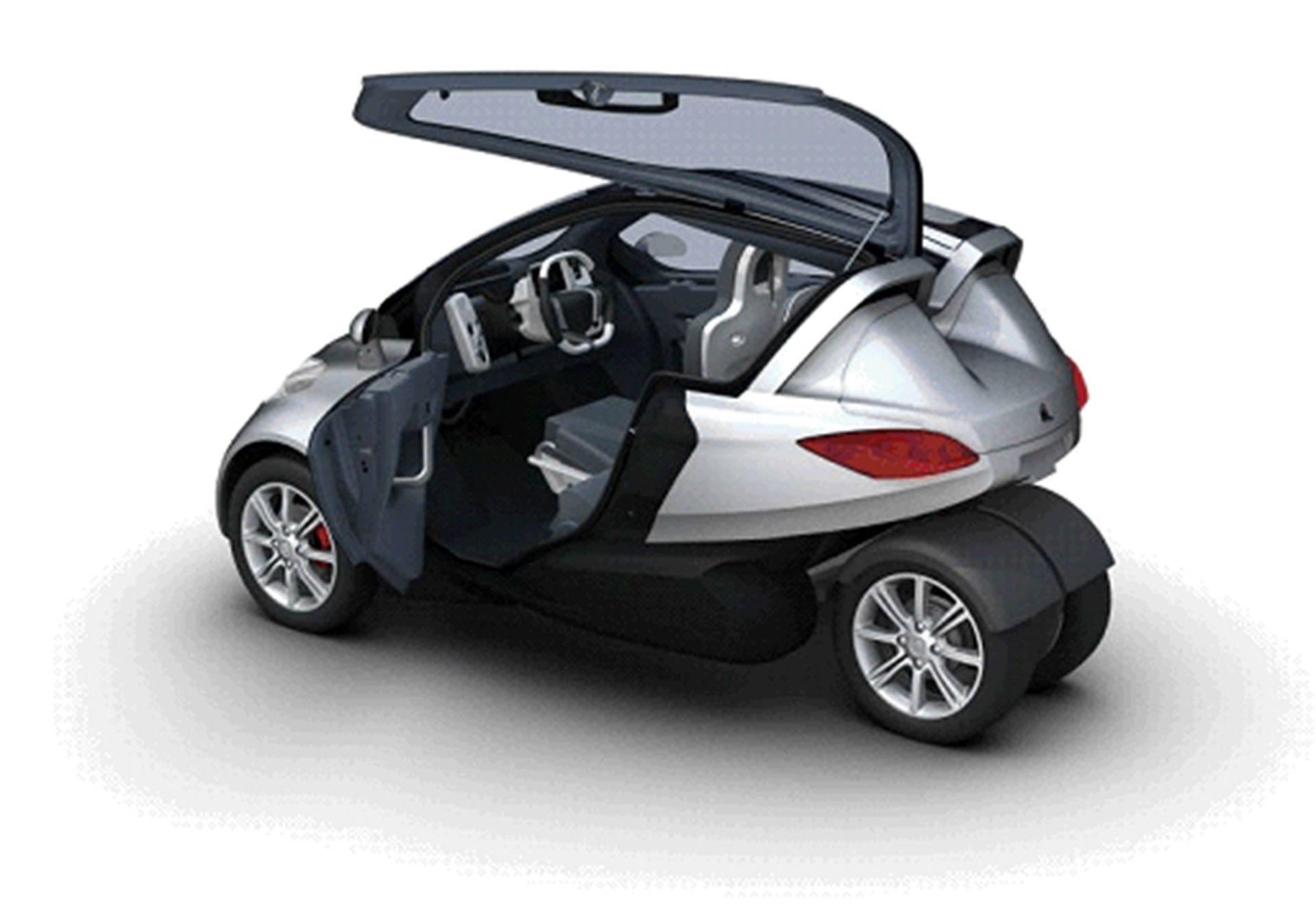 PSA Peugeot Citroën presents its light city electric
