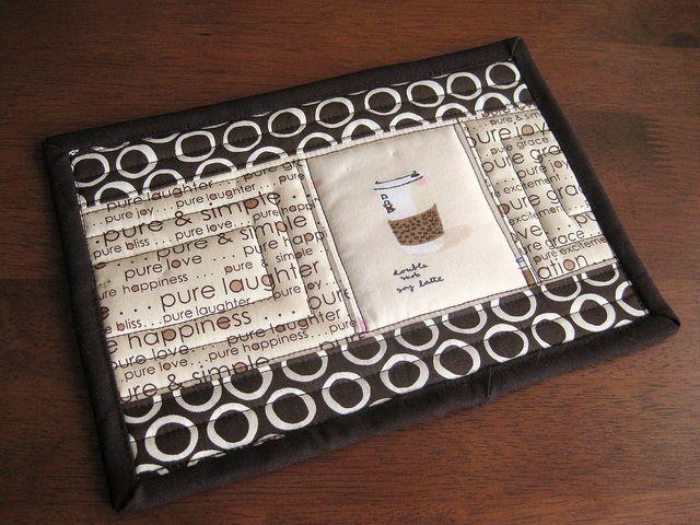 mug rug | Flickr - Photo Sharing!