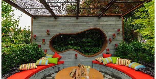 Garten Deko-Ideen 2017 Deko Ideen Pinterest