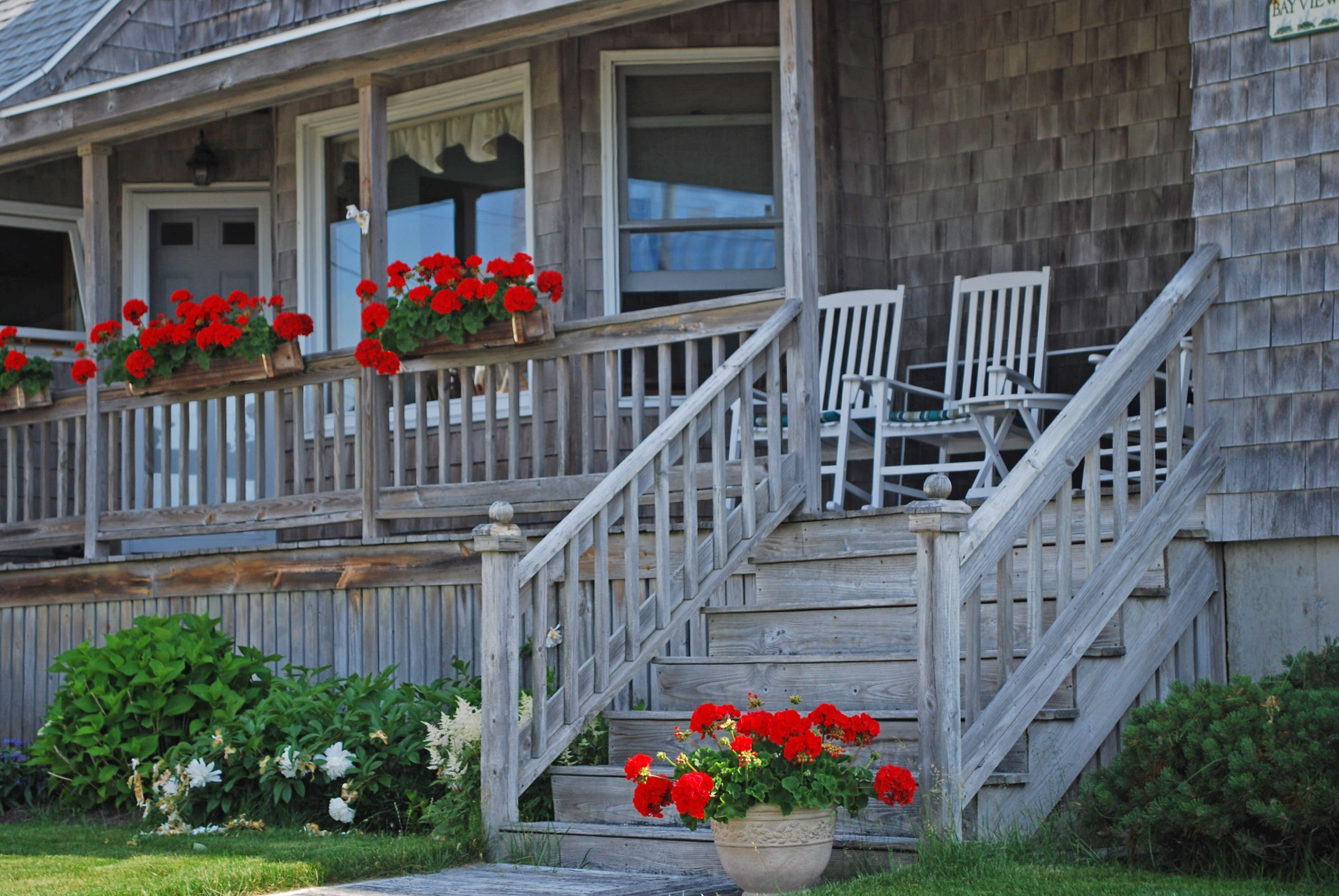 Cottage at higgins beach outdoor decor outdoor beach