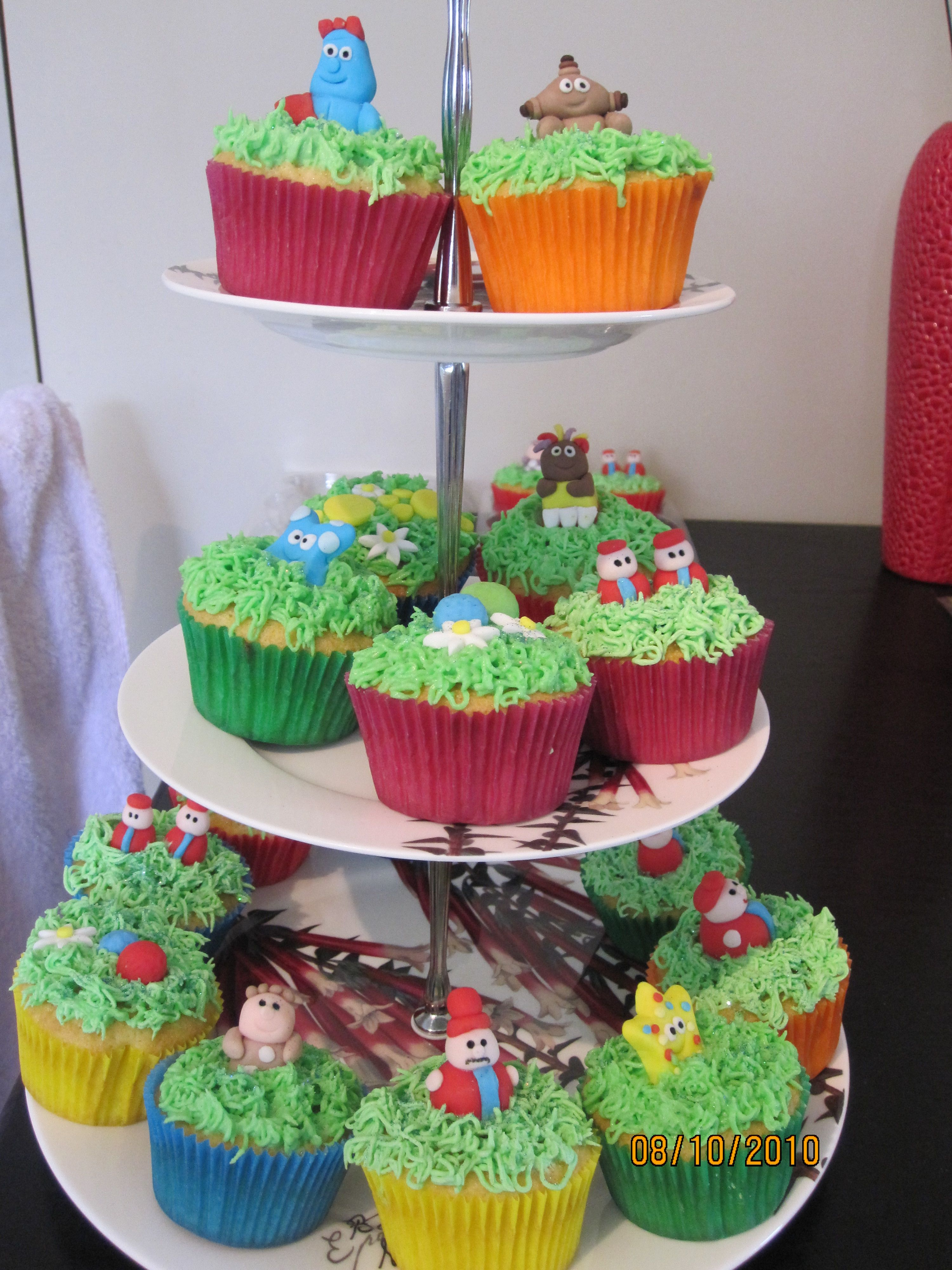 In the Night Garden Cupcakes | My Baking Creations | Pinterest ...