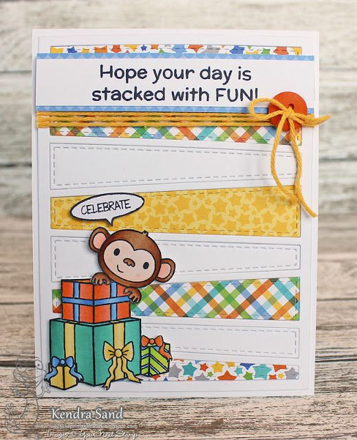 Luv 2 Scrap N' Make Cards, Kendra Sand, Your Next Stamp