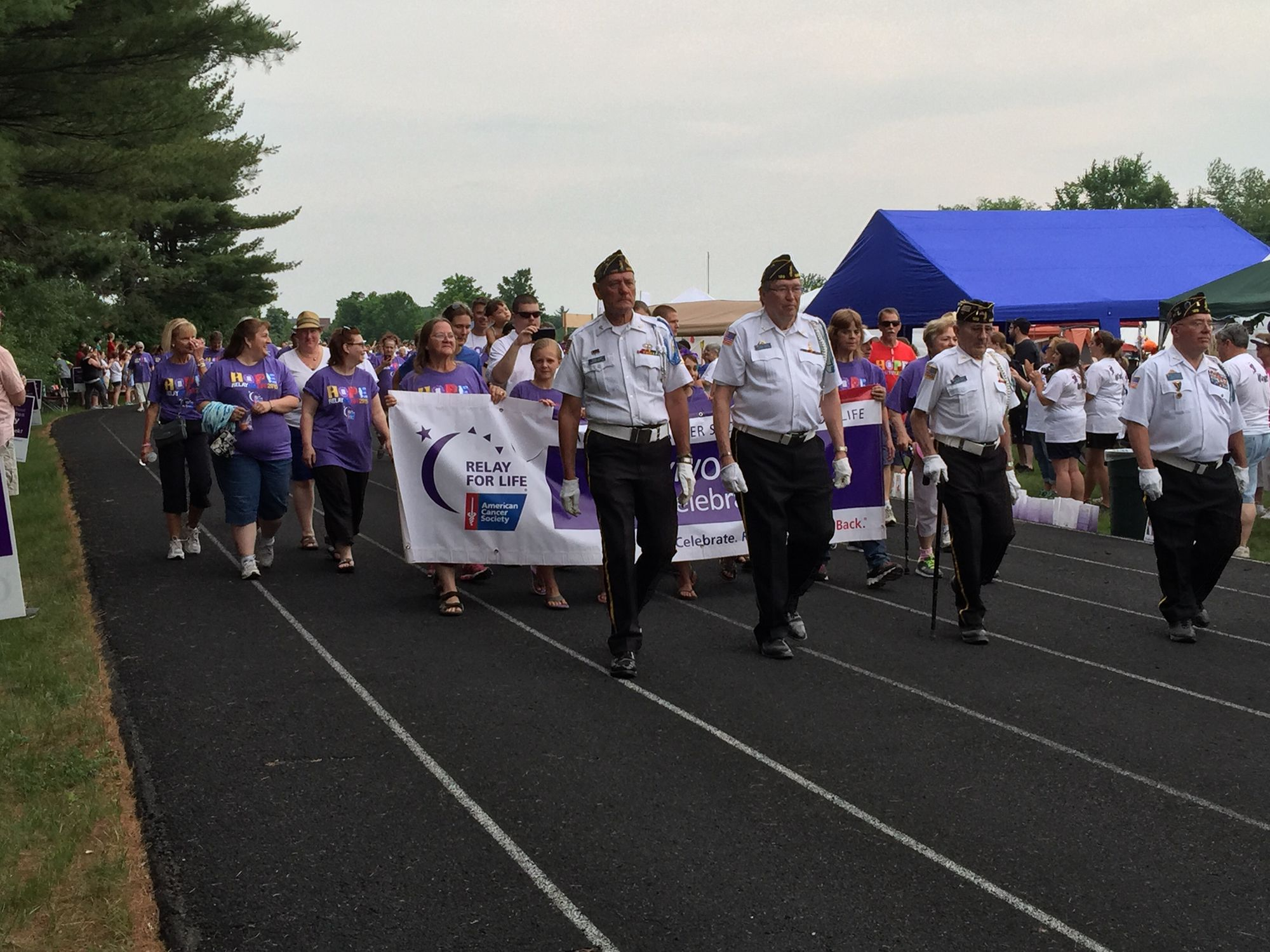 Relay for Life 2015 Survivors Lap