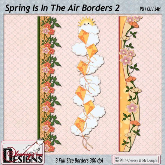 Spring Is In The Air Borders 2