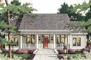 Houseplans.com Southern Front Elevation Plan #406-284