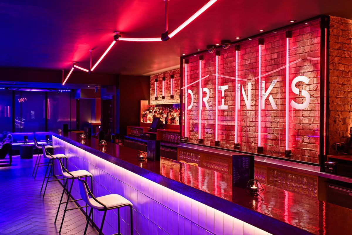Night Club Interior Bar Night Club Interior In 2020 Nightclub Design Bar Design Awards Bar Design