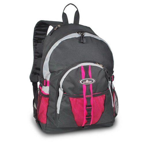 Everest 3045W Backpack w/Dual Mesh Pocket – pink