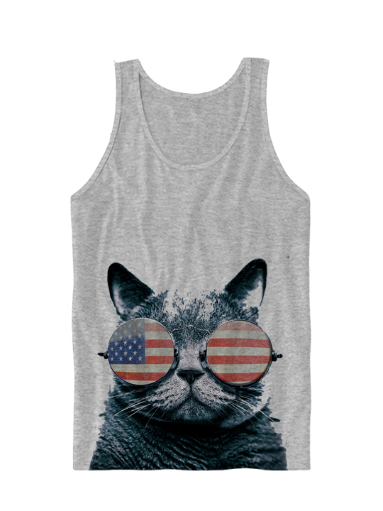 funny cat tanks for women - Google Search