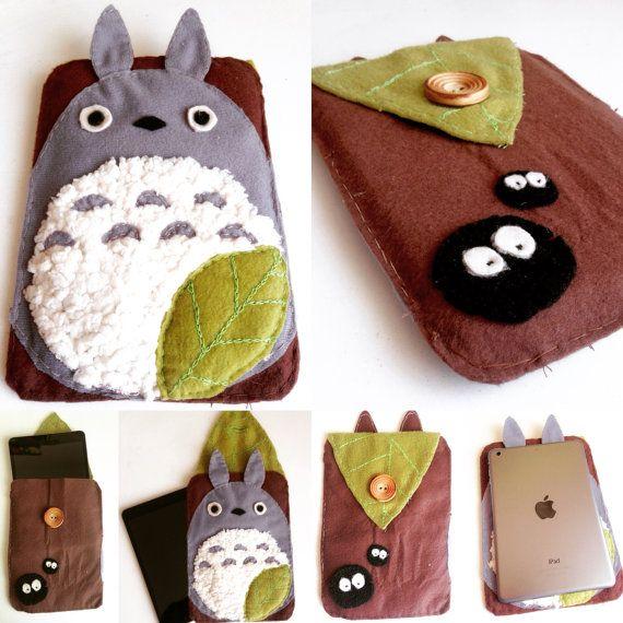 Totoro Ipad Sleeve iPad Case iPad Sleeve iPad Air by DesignFrikis