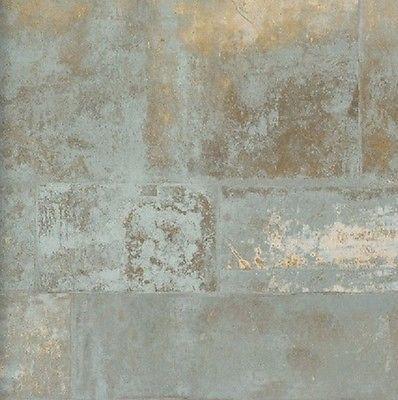 Neu! Vlies Tapete 47213 Stein Muster Bruchstein gold grau metallic - tapeten wohnzimmer grau