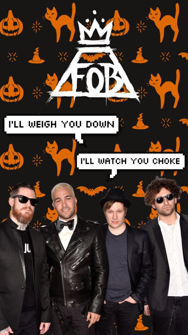 fall out boy halloween lockscreens made by maddy4015
