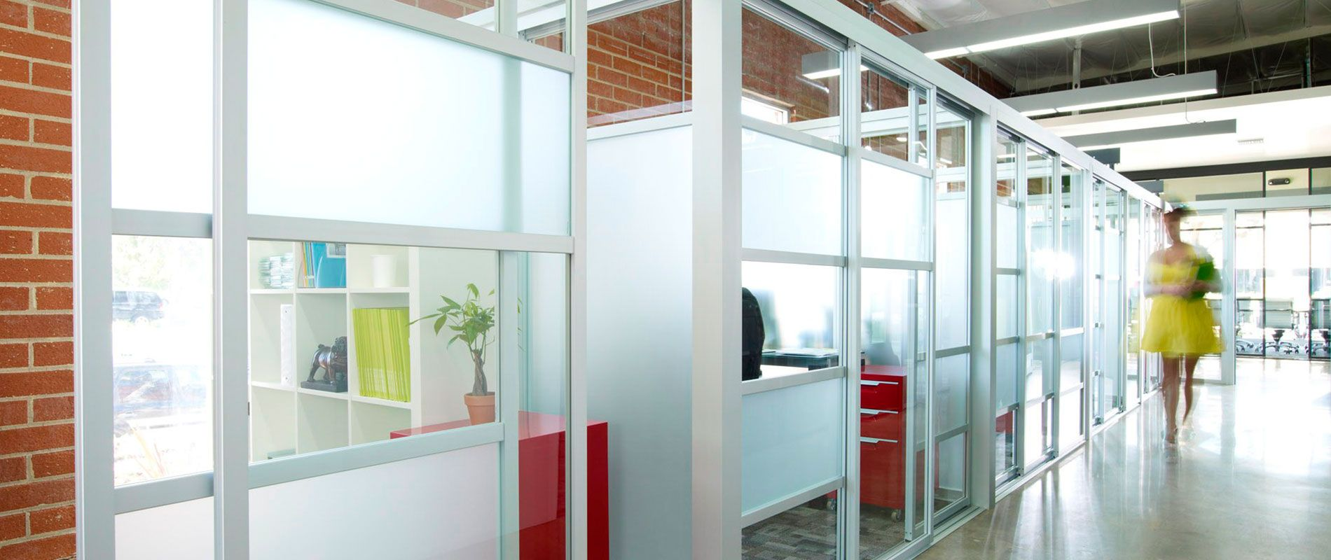 We manufacture & install glass office partitions, cubicles ...