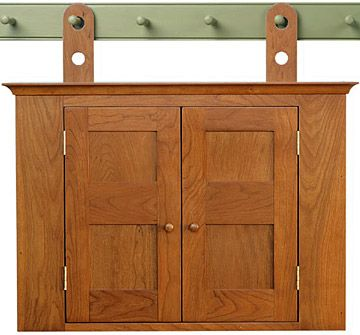 Kentucky Shaker Wall Cupboard : shaker wall cabinet - Cheerinfomania.Com