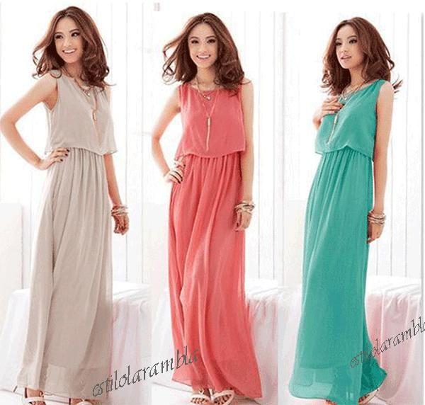 Sukienka Długa Zwiewna Wesele Cudo Hit S Xl Kolory Dresses Dresses