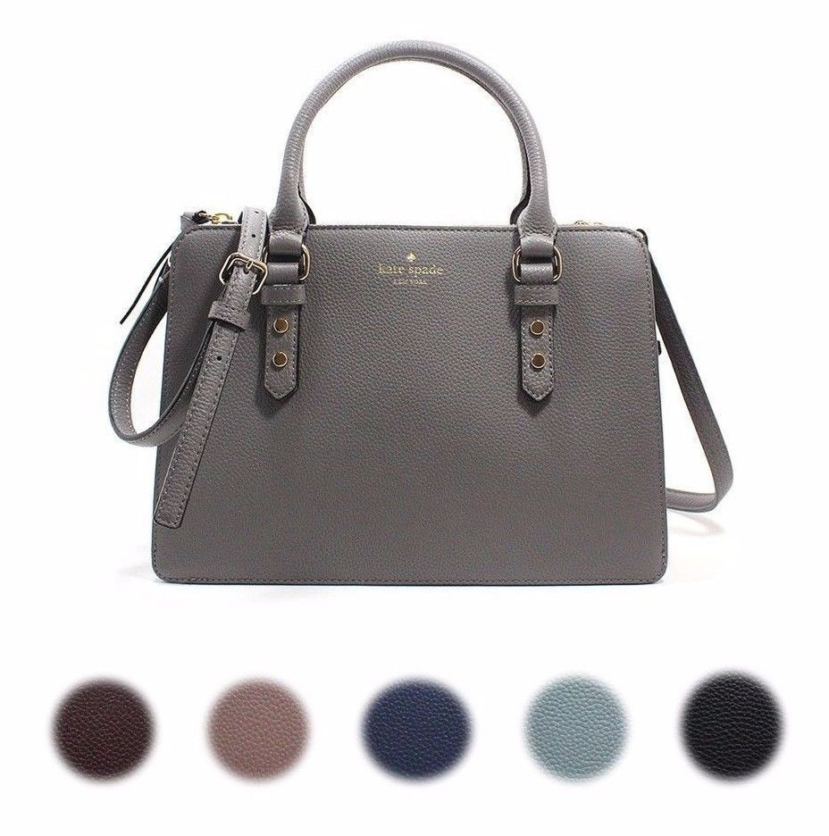 56fd414e2e New Kate Spade New York Lise Mulberry Street Satchel Crossbody Pebble  Leather