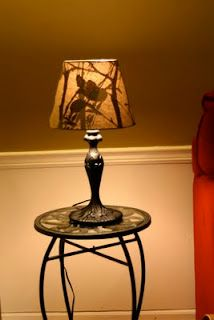 revolutionaries garage sale finds a lamp redo