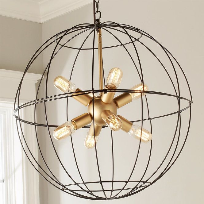 This Wire Globe Lantern Was Designed By Young House Love Bloggers Sherry And John Petersik Exclusively For Shades Of Light The Wide Open Look