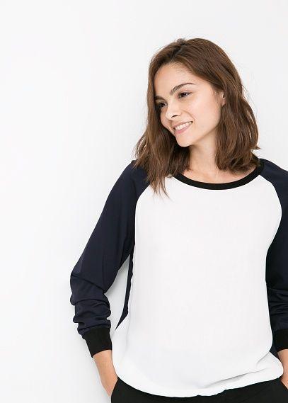 Tricolor sweatshirt