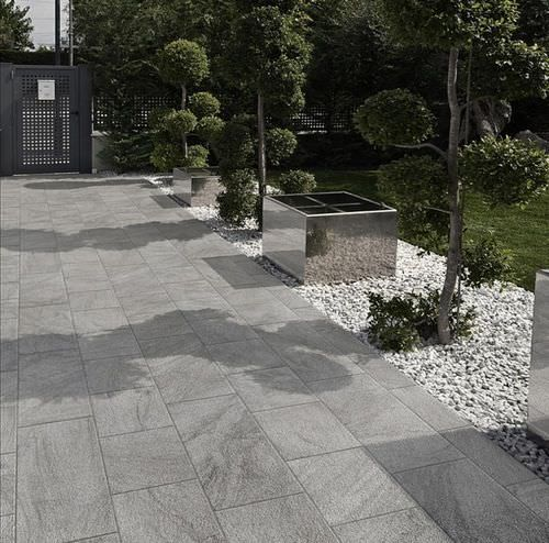 Outdoor Tile For Floors Porcelain Stoneware Matte Stonetrack Stone Grey Patio Tiles Outdoor Tile Patio Outdoor Flooring