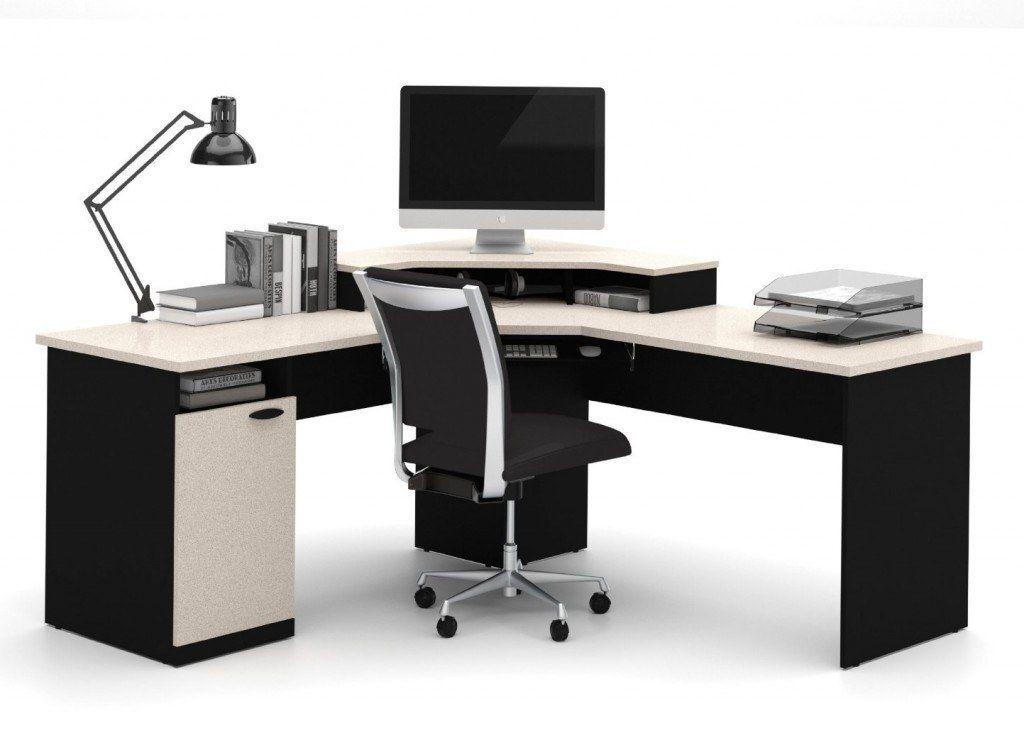 bestar hampton corner workstation best gaming desks things to build pinterest gaming. Black Bedroom Furniture Sets. Home Design Ideas