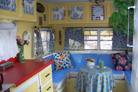 Vintage Camper Decorating Ideas