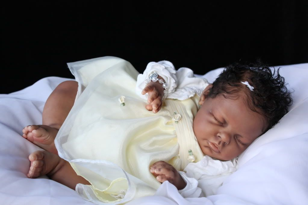 Reborn Baby Girl Ethnic Aa Biracial Noah Sculpt By Reva