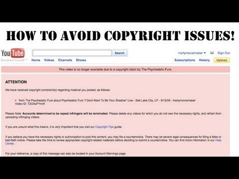 How To Avoid Copyright Strikes And Use Music In Your Video Tutorial Avoid Copyright Youtube Videos Tutorial Tutorial Editing Tutorials