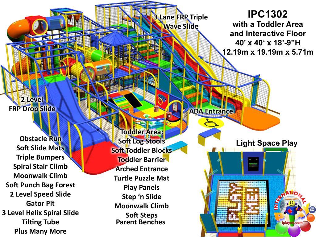 Commercial indoor Playground Equipment Manufacturer FEC