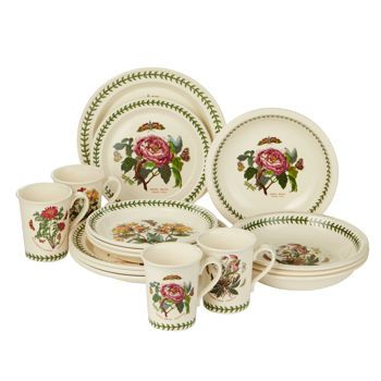 Costco Portmeirion Botanic Garden 16 Piece Dinnerware Set Home Decor Dinnerware Sets