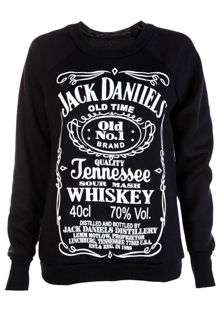 aa2f28fcc3e5c Jack Daniels Sweatshirt